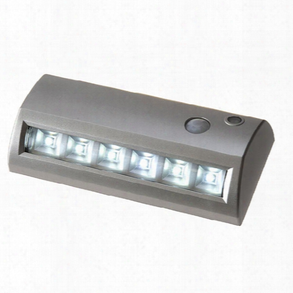 Tufloc Motion Activated Light, Silver Housing - Silver - Unisex - Excluded