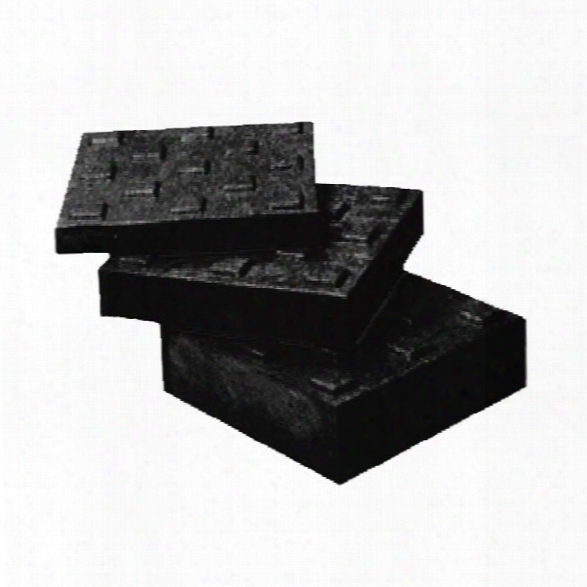 "Turtle Plastics Square Lock Block, 1"" X 9"", Black - Black - Unisex - Excluded"