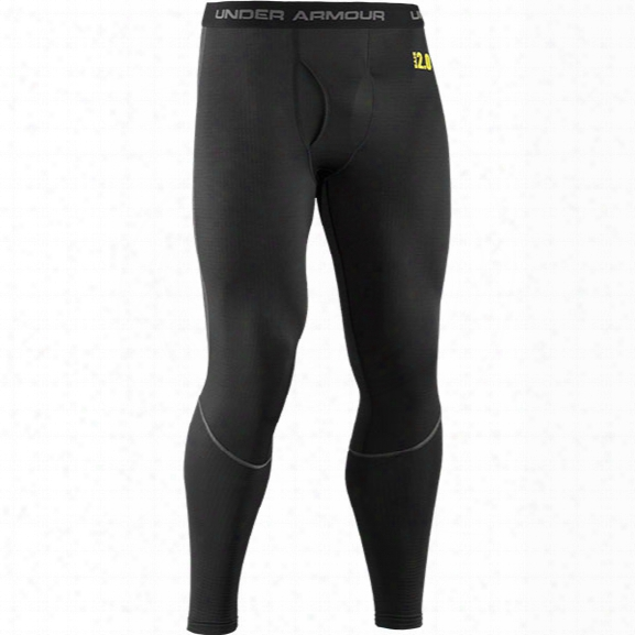 Under Armour Base 2.0 Legging, Black/school Bus, 2x-large - Black - Male - Excluded