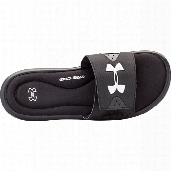 Under Armour M Ignite Iv Sl Sandal, Black, 10 - Black - Male - Excluded