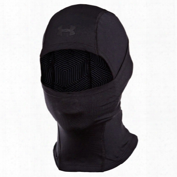 Under Armour Tactical Coldgear Hood, Black - Black - Male - Excluded