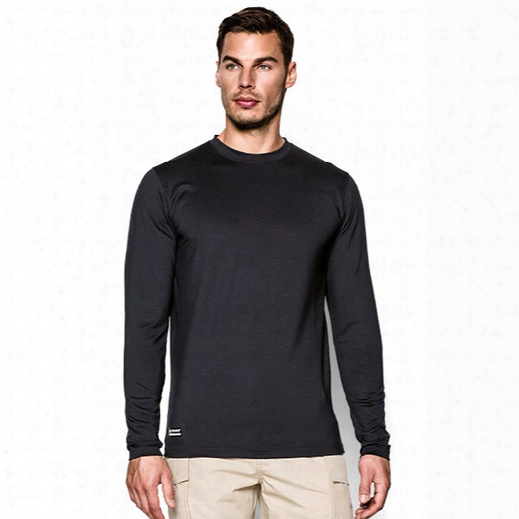 Under Armour Tactical Coldgear Ls Crew, Black, 2xl - Black - Male - Excluded