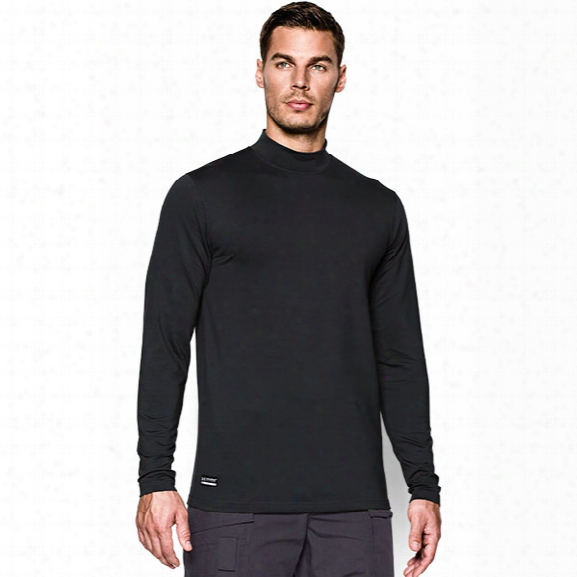Under Armour Tactical Coldgear Mock, Black, Lg - Black - Male - Excluded