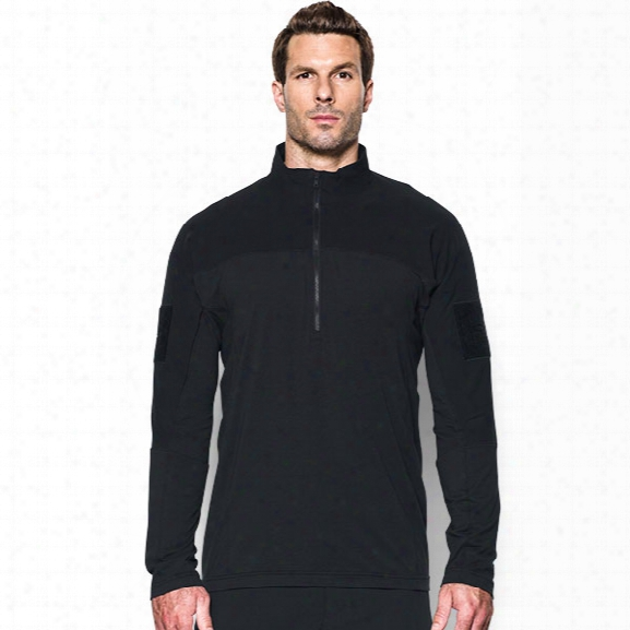 Under Armour Tactical Combat Long Sleeve 2.0, Black, 2x-large - Black - Male - Excluded