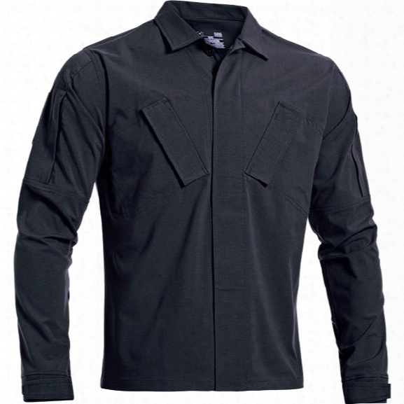 Under Armour Tactical Duty Shirt, Dark Navy, Small - Blue - Male - Excluded
