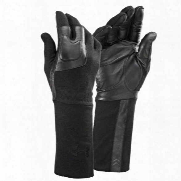 Under Armour Tactical Fr Liner Glove, Black, Large - Black - Male - Excluded
