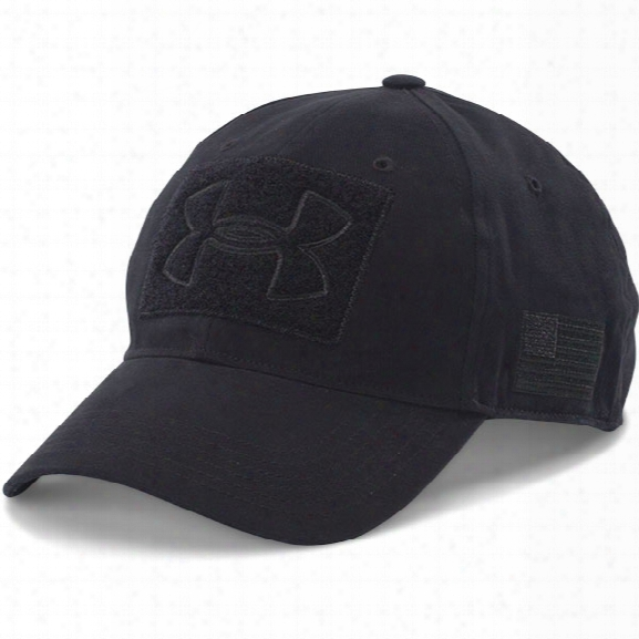 Under Armour Tactical Patch Cap, Black, One Size - Black - Male - Excluded