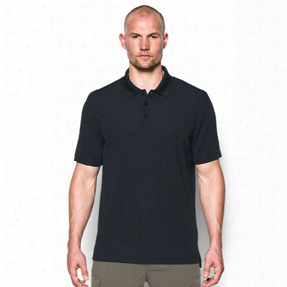 Under Armour Tactical Performance Polo, Black, 2x-large - Black - Male - Excluded