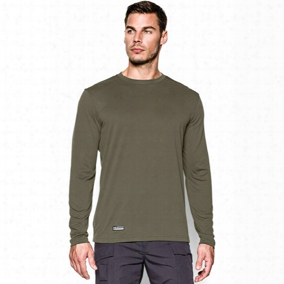 Under Armour Tactical Tech Long Sleeve Tee, Marine Od Green, X-large - Green - Male - Excluded