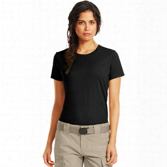 Under Armour Womens Tactical Charged Cotton Tee, Black, 2x-large - Black - Male - Excluded