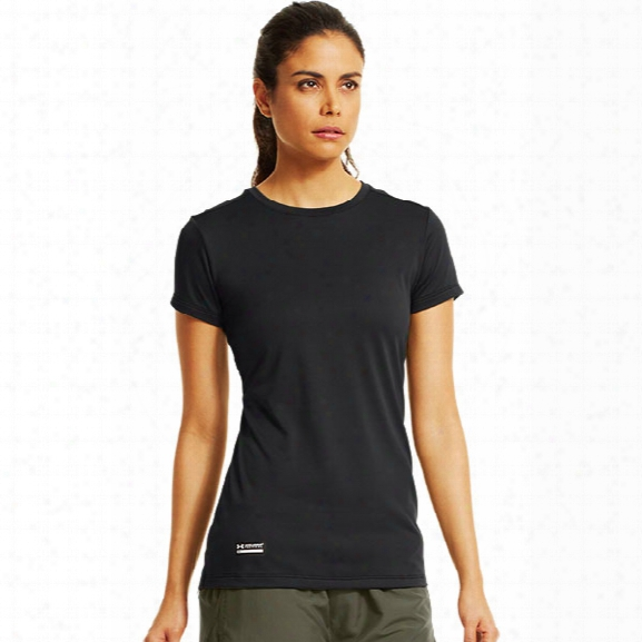 Under Armour Womens Tactical Tech Tee, Black, Large - Black - Male - Excluded