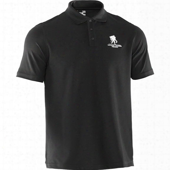 Under Armour Wwp Performance Short Sleeve Polo, Black, Md - Black - Male - Excluded