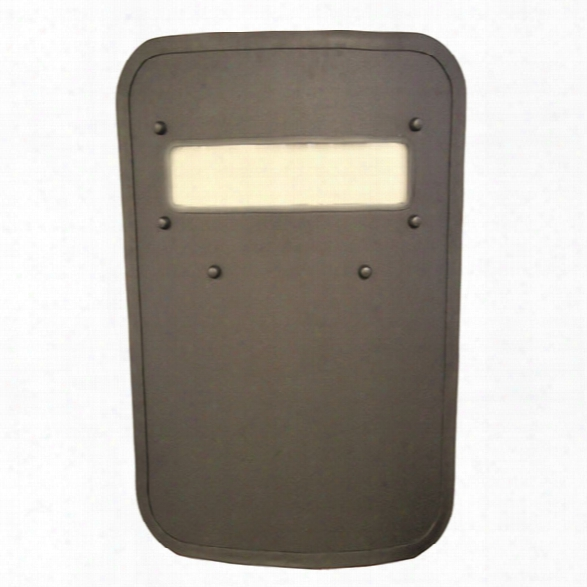 "United Shield Small Level Iiia Ballistic Shield W/ View Port, 20"" X 34"" - Male - Excluded"