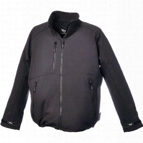 Viking Softshell Jacket, Black, 2x-large - Black - Male - Included