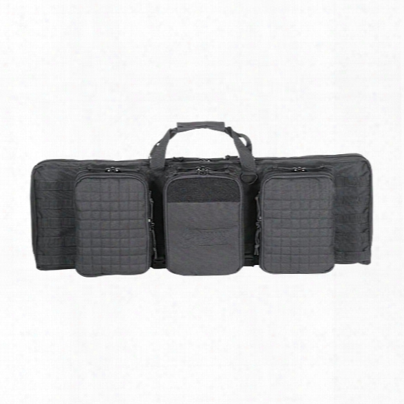 "Voodoo Tactical 36"" Deluxe Padded Weapons Case, Black - Black - Male - Included"