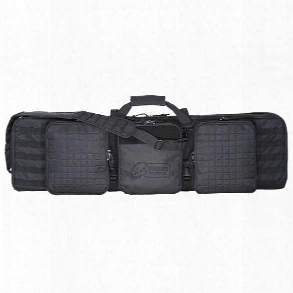 "Voodoo Tactical 42"" Deluxe Padded Weaposn Case, Black - Black - Male - Included"
