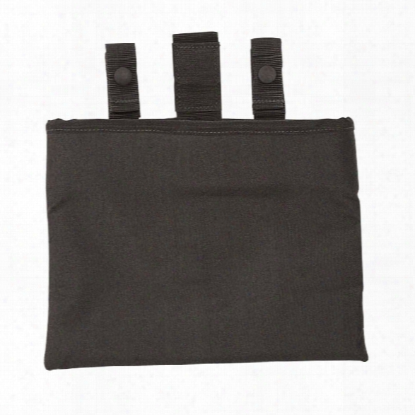 """Voodoo Tactical 8"""" Roll-up Dump Pouch, Black - Black - Male - Included"""