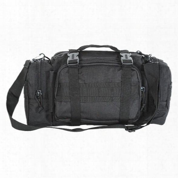 Voodoo Tactical Enlarged 3-way Deployment Bag, Black - Black - Male - Included