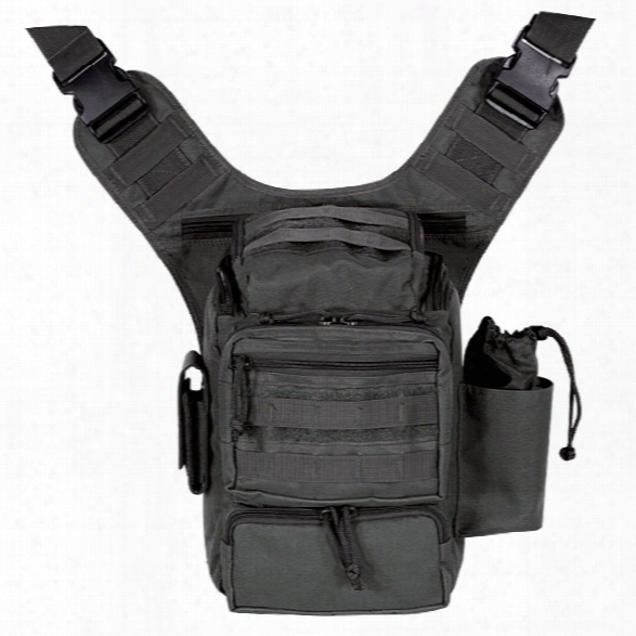 Voodoo Tactical Padded Concealment Bag, Black - Black - Male - Included