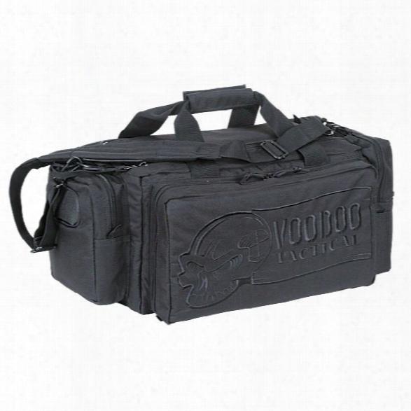 Voodoo Tactical Rhino Range Bag, Black - Black - Male - Included