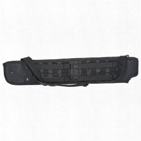 Voodoo Tactical Shotgunn Scabbard, Black - Black - Unisex - Included