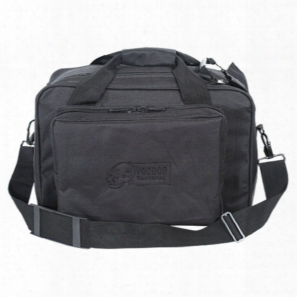 Voodoo Tactical Two-in-one Full Size Range Bag, Black - Black - Male - Included