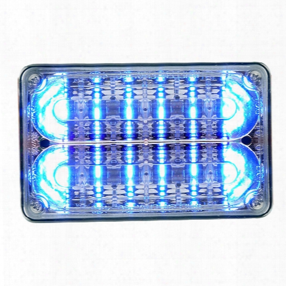 Whelen 400 Series Linear-led® Super-led®, 6 Over 6 W/ Individual Controls, Blue/blue - Blue - Unisex - Excluded