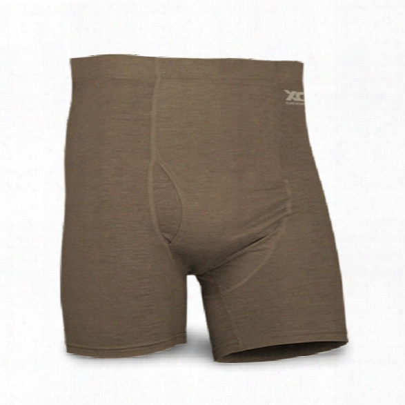 Xgo Phase 1 Fr Boxer Brief, Coyote Brown, 2x-large - Brown - Male - Included