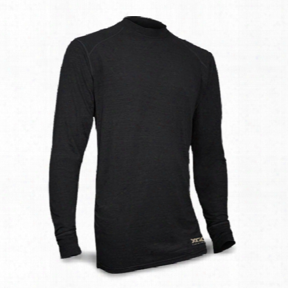Xgo Phase 1 Fr Relaxed Ls Crew, Black, 2x-large - Wicked - Male - Included