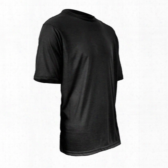 Xgo Phase 1 Fr Rib Ss Crew, Black, Large - Black - Male - Included