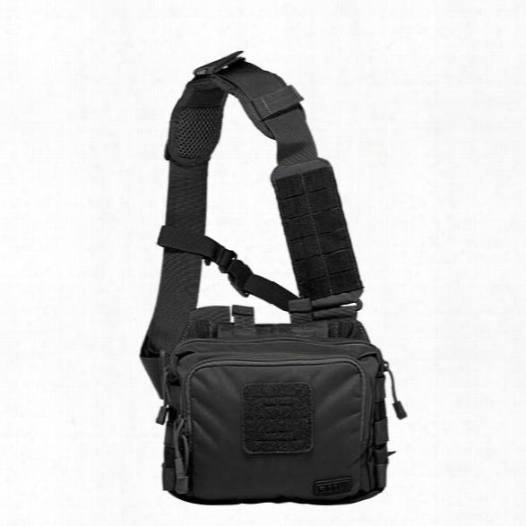 5.11 Tactical 2-banger Bag, Black - Black - Male - Excluded