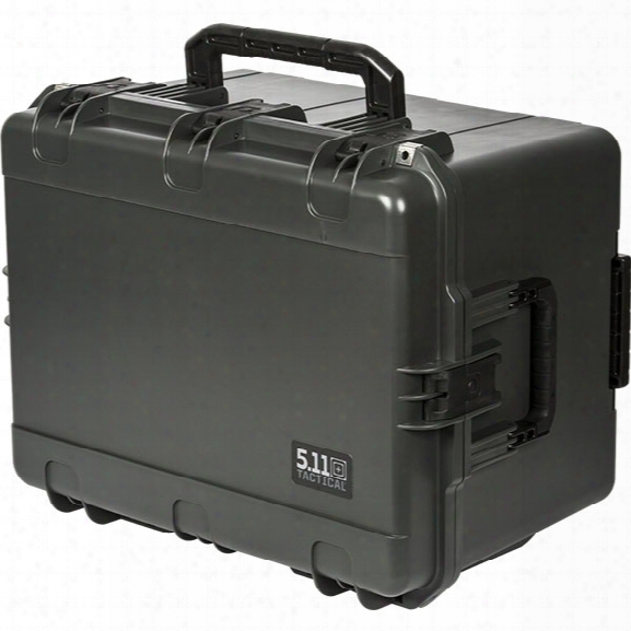 5.11 Tactical 5480 Hard Case W/foam, Double Tap - Male - Excluded