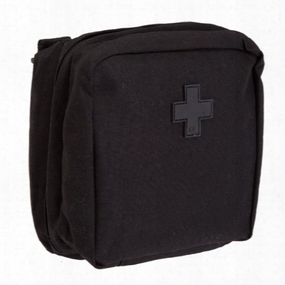 5.11 Tactical 6.6 Med Pouch, Black - Black - Unisex - Excluded