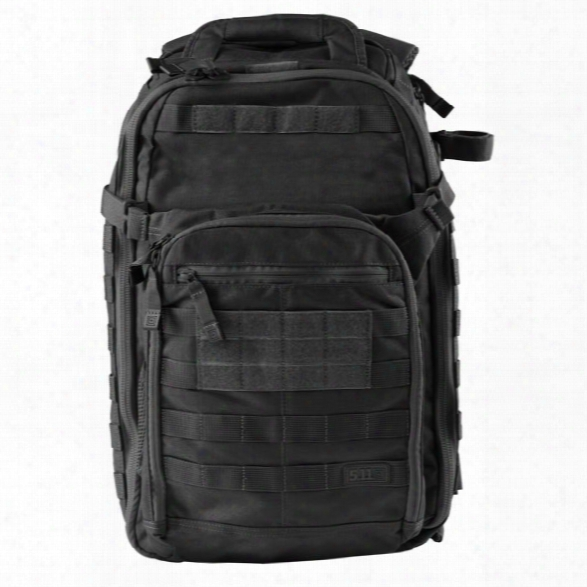 5.11 Tactical All Hazards Prime Bag, Black - Black - Male - Excluded