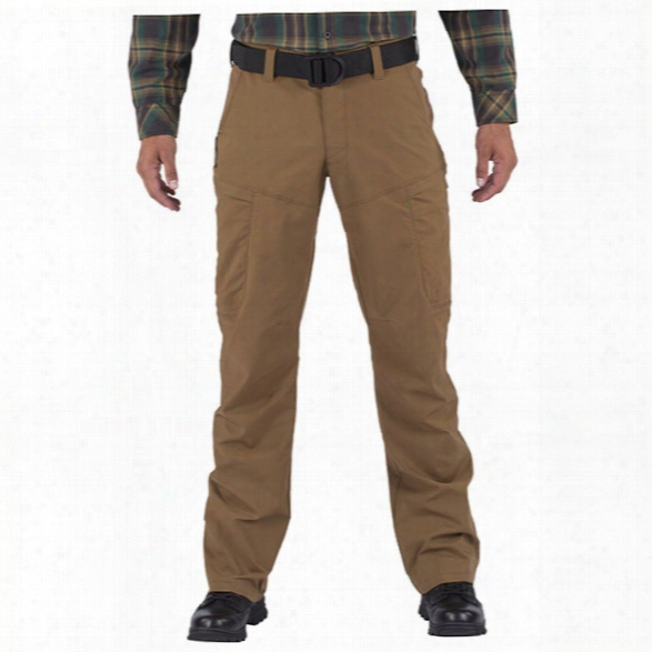 5.11 Tactical Apex Teflon Pant, Battle Brown, 28x30 - Brown - Male - Excluded