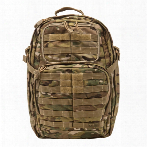 5.11 Tactical Bag Rush 24 Pack Multicam - Camouflage - Male - Excluded