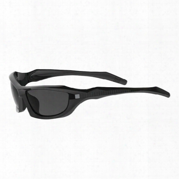 5.11 Tactical Burner Full Frame Sunglasses, Matte Black - Black - Male - Excluded
