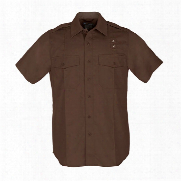 5.11 Tactical Class A Taclite Pdu Ss Shirt, Brown, 2x-large Tall - Brown - Male - Excluded