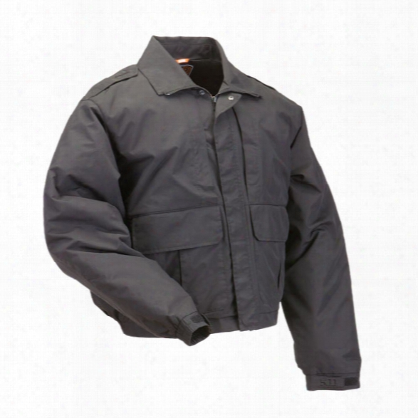 5.11 Tactical Double Duty Jacket, Black, Xx-large - Black - Male - Excluded