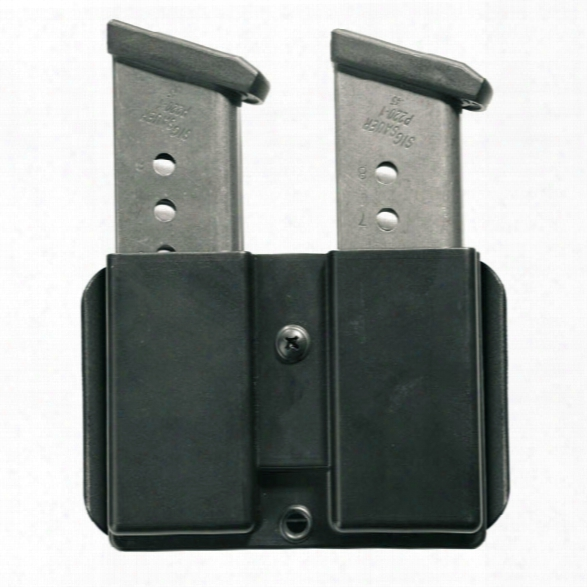 5.11 Tactical Double Mag Pouch, Glock 9/.40 - Black - Unisex - Excluded