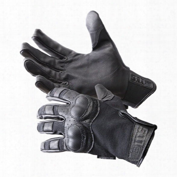 5.11 Tactical Hard Time Gloves, Black, 2xl - Black - Male - Excluded