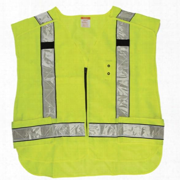 5.11 Tactical Hi-vis 5-point Breakaway Vest, Reflective Yellow, 2xl+ - Yellow - Maoe - Excluded