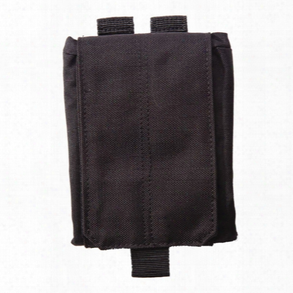 5.11 Tactical Large Drop Pouch, Black - Black - Male - Excluded