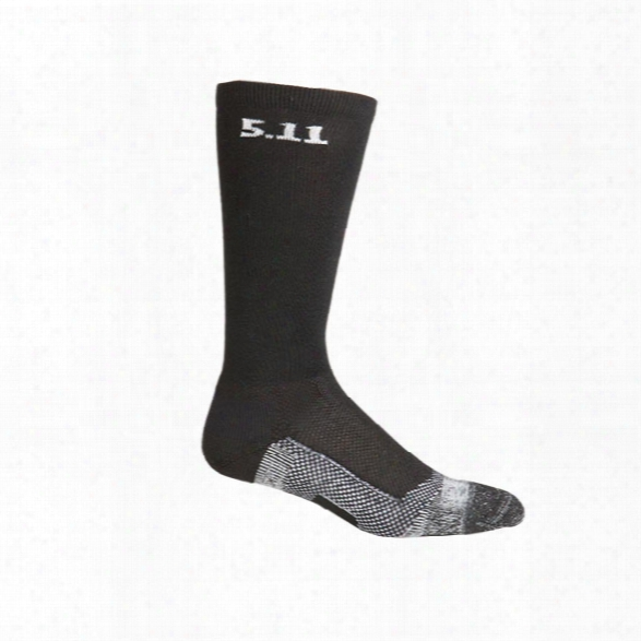 """5.11 Tactical Level 1, 9"""" Sock, Black - Black - Male - Excluded"""