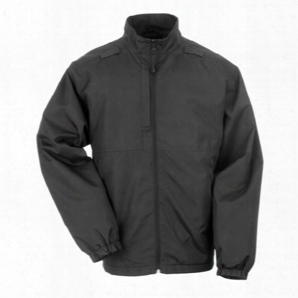 5.11 Tactical Lined Packable Jacket, Black, 2xl - Black - Male - Excluded