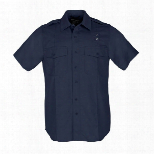 5.11 Tactical Mens Pdu Twill Class A Ss Shirt Black 2xl Long - Black - Male - Excluded