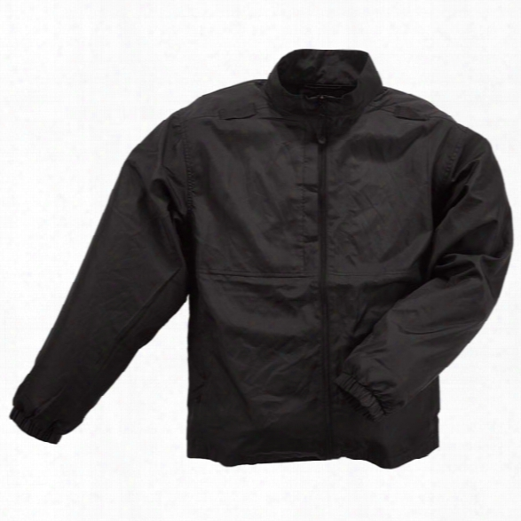 5.11 Tactical Packable Jacket, Black, 2xl - Black - Male - Excluded