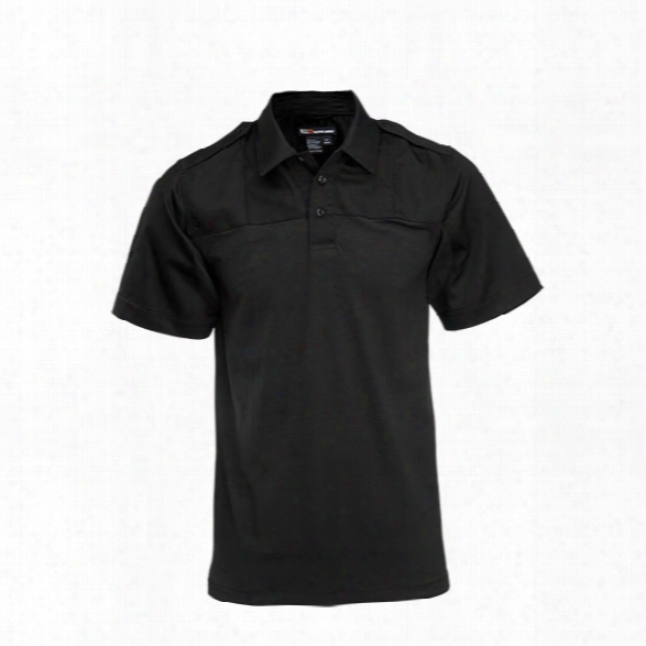 5.11 Tactical Pdu Rapid S/s Shirt, Black, 2x Long - Black - Male - Excluded