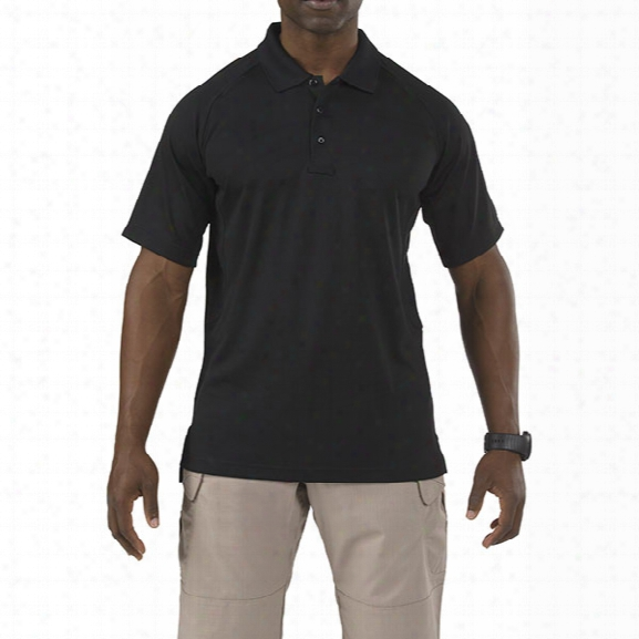 5.11 Tactical Performance Polo, Black, 2xl - Black - Male - Excluded