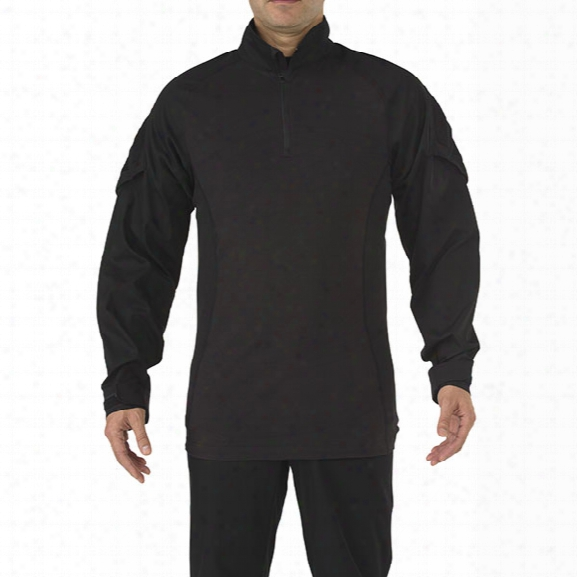 5.11 Tactical Rapid Assault Shirt, Black, 2x - Black - Male - Excluded